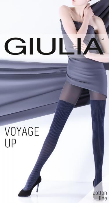 Колготки VOYAGE UP 07 Эффектные колготки фантазийной коллекции с высоким содержанием хлопка.